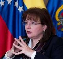 ECUADOR.- Carol Delgado ejercía como embajadora de Venezuela en el país desde noviembre de 2014. Foto: Archivo