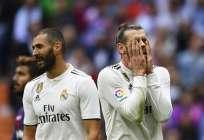 Los 'merengues' perdieron 2-1 de local ante el Levante y quedarían a 5 puntos del líder. Foto: GABRIEL BOUYS / AFP