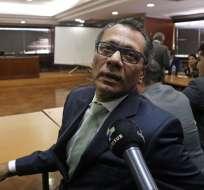 GUAYAQUIL, Ecuador.- Glas se encontraba en la cárcel 4 de Quito desde octubre de 2017. Foto: Archivo/API.