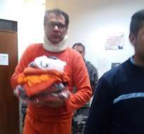Glas fue trasladado a la cárcel de Latacunga. Foto: Twitter