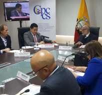 QUITO, Ecuador.- CPCCS transitorio tendría en 24 horas, la lista de 14 postulantes al organismo electoral. Foto: API