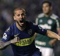 El equipo argentino venció 2-0 a los brasileños en los últimos minutos de juego. Foto: ALEJANDRO PAGNI / AFP