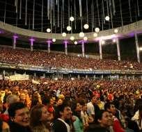 El festival de Viña del Mar es uno de los más destacados de Latinoamérica. Foto: Twitter Viña del Mar.