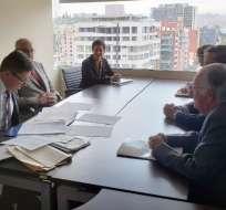 QUITO, Ecuador.- Comisionados renunciaron a su remuneración y alistan oficios para funciones del Estado. Foto: CPCCS