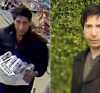 El actor tuvo que aclarar que no fue él quien robó en Inglaterra. Foto: BLACKPOOL POLICE/GETTY IMAGES