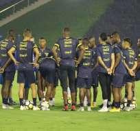 La derrota ante Catar y el empate ante Omán afectaron el puntaje de la 'Tricolor'. Foto: Tomada de @FEFecuador
