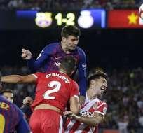 La Liga pretendía que el partido entre el F.C. Barcelona y el Girona se juegue en Florida. Foto: AP