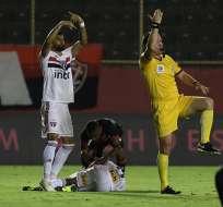 El ecuatoriano asistió en el gol que le dio la victoria a su equipo. Foto: Sao Paulo