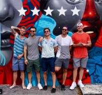 Zach, Dustin, Clayton, Ford y Chad se enamoraron de Latinoamérica y adoptaron sus costumbres. Foto: Instagram Los Gringos TV.