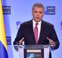 BOGOTÁ, Colombia.- Gobierno de Duque rechaza declaraciones de diario brasileño sobre intervención. Foto: Presidencia Colombia.