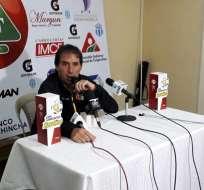 AMBATO, Ecuador.- Almada habló también sobre las posibilidades que tiene BSC de llegar a la final. Foto: Radio Atalaya