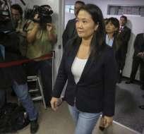 Keiko Fujimori Foto: AFP