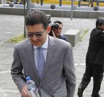 QUITO, Ecuador.-  Exprocurador por el caso de delincuencia Organizada denunciado por Cesar Montufar. Foto: API.