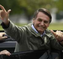 Jair Bolsonaro Foto: AFP