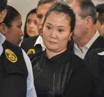 La política está acusada de recibir aportes ilegales de constructora brasileña Odebrecht. Foto: AFP.