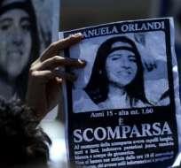 La familia de Emanuela Orlandi lleva años intentando saber qué le ocurrió a la adolescente. Foto: Getty Images