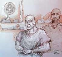 Acusado de los atentados con explosivos en EEUU Foto: AP