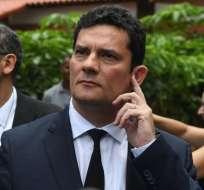 RIO DE JANEIRO, Brasil.- Las sentencias de Moro llevaron a la cárcel a Marcelo Odebrecht y a Lula da Silva. Foto: AFP.