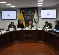 Aprueban 28 candidaturas para elecciones del CPCCS. Foto: CNE
