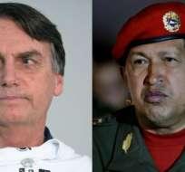 Los momentos en los que llegaron al poder Bolsonaro y Chávez son semejantes.