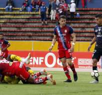 Los 'puros criollos' igualaron 1-1 con Independiente del Valle en el Olímpico Atahualpa. Foto: API