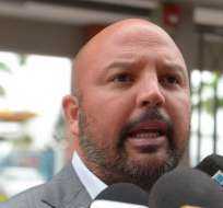 El presidente de la Liga Profesional de Fútbol del Ecuador emitió un comunicado sobre los árbitros. Foto: API