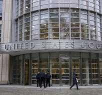 El jurado deberá decidir si el narco es culpable o no de 11 delitos. Foto: AFP