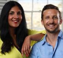 Radha Vyas y Lee Thompson se conocieron a través de un sitio web de citas.