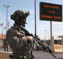 El gobierno de Trump justificó el envío de 5.200 militares a la frontera. Foto: GETTY IMAGES