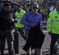 ECUADOR.- Asamblea pide comparecencia de técnicos de grilletes electrónicos tras fuga de Alvarado. Foto: Archivo