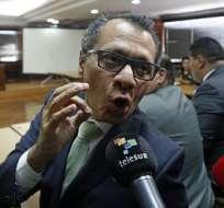 Exvicepresidente se declaró en huelga de hambre al llegar a cárcel de Latacunga. Foto: Archivo API