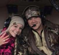 La joven pareja de Texas murió cuando un helicóptero que tomaron al salir de su propia boda se estrelló el sábado por la noche.