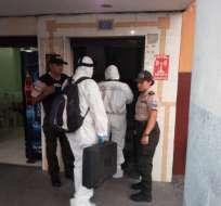 Una pareja fue hallada muerta en hotel del centro de Guayaquil. Foto: Redes
