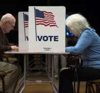 En el comicio están en juego las 435 bancas de la Cámara de Representantes. Foto: AFP