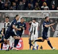 El equipo inglés remontó un 1-0 en Turín y sigue segundo del grupo. Foto: Marco BERTORELLO / AFP