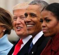 """Michelle Obama acusó a Donald Trump de """"poner la seguridad de su familia en riesgo""""."""