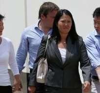 Tribunal peruano ordena prisión preventiva a asesor de Keiko Fujimori. Foto: AP - Referencial