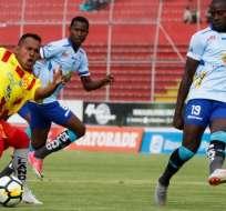 QUITO, Ecuador.- Este partido se disputó en el estadio Gonzalo Pozo Ripalda. Foto: API