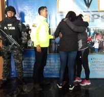 Mujer que era explotada sexualmente fue rescatada. Foto: Policía Nacional