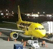 GUAYAQUIL, Ecuador.- La aerolínea Spirit inició sus operaciones en la ciudad el 23 de marzo de 2018. Foto: Ministerio de Turismo