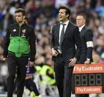 Santiago Solari dirige el Real Madrid de forma interina desde el 29 de octubre. Foto: AFP