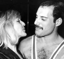 Cuando se conocieron, Mercury aún no era un músico exitoso.