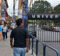 GUAYAQUIL, Ecuador.- El rector Roberto Passailaigue reveló que la universidad le debe $15 millones al IESS. Foto: Archivo