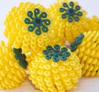 Rachael Miller cree que las bolas Cora podrían reducir la contaminación por microfibras.