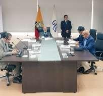 QUITO, Ecuador.- EL CPCCS-T convocó a los 12 postulantes finalistas a la audiencia pública de oposición. Foto: CPCCS.