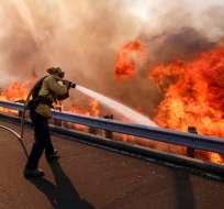 """Mayoría de las muertes fueron causadas por """"Camp Fire"""", el incendio más letal del estado. Foto: AP"""