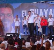 Jiménez fue gobernador del Guayas en el 2008 durante el régimen de Rafael Correa. Foto: API