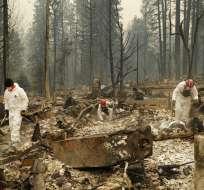 Los incendios obligaron la evacuación de más de 250.000. Foto: AP