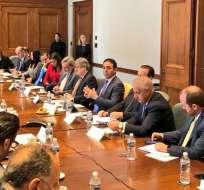 EE.UU.- La próxima reunión del TIC se efectuará en Quito, en 2019, sin fecha establecida. Foto: Twitter