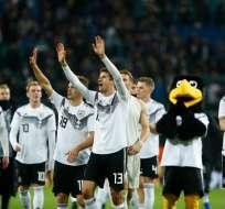 Los 'germanos' vencieron 3-0 a los rusos. Foto: Odd ANDERSEN / AFP